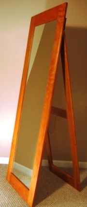 Standalone Tall Cherry Mirror-FRONT