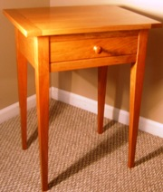 Cherry Shaker Side Table