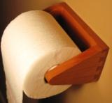Custom Cherry Toilet Paper Holder